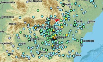 intensitate cutremure