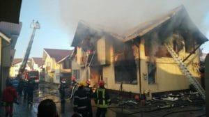 incendiu casa floresti