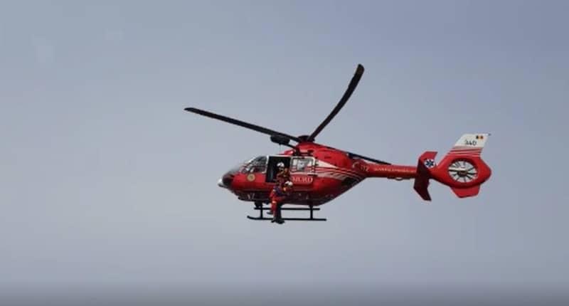 salvat elicopter smurd
