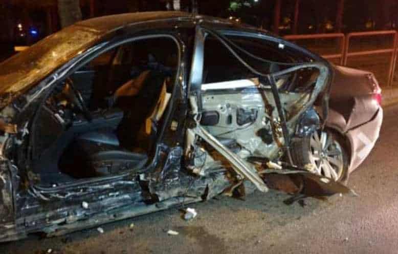 BMW accident timisoara