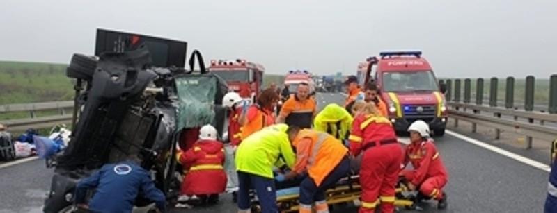 accident A1 timis lugoj