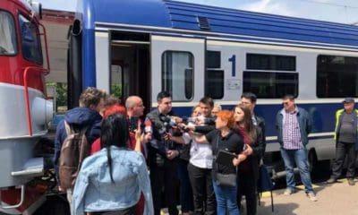 ministrul Razvan Cuc tren gara