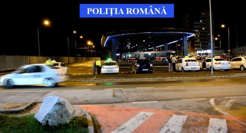 razie politia noaptea taxi