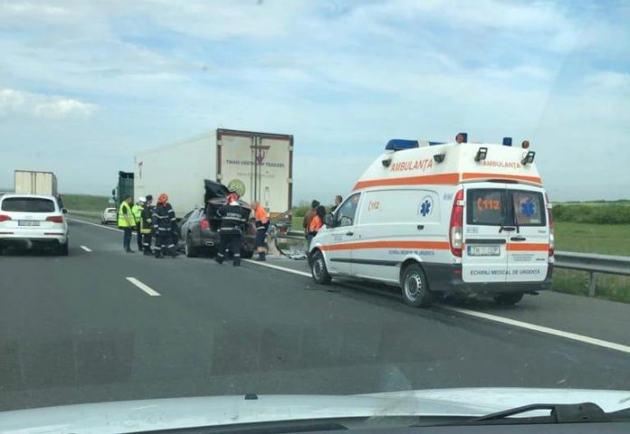 A1 accident