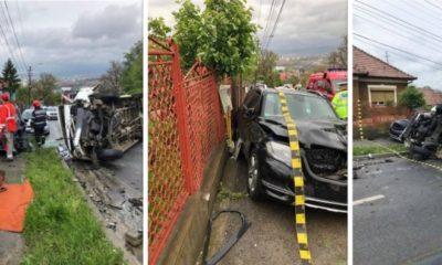 accident cluj spicului 7 mai 2019