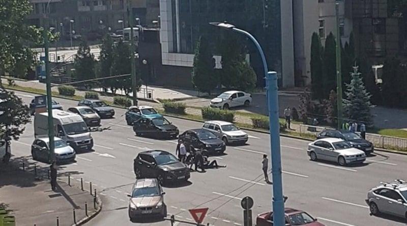 ACCIDENT moto brasov