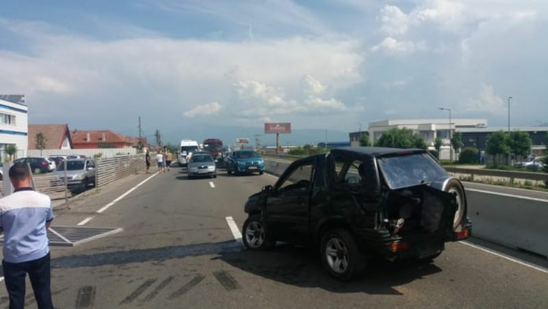 accident dn1 sibiu