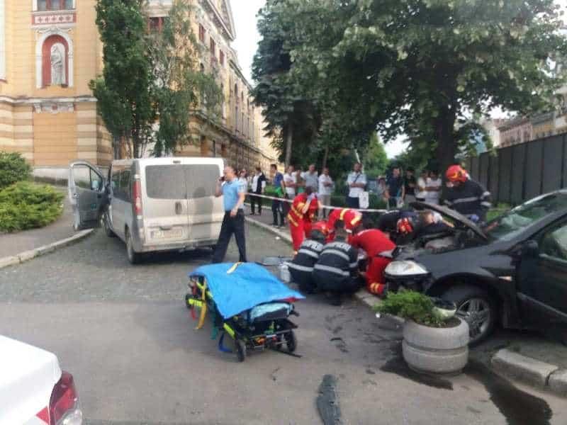 accident piata avram iancu cluj