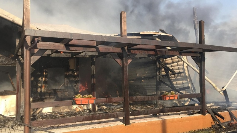 incendiu pensiune mahmudia