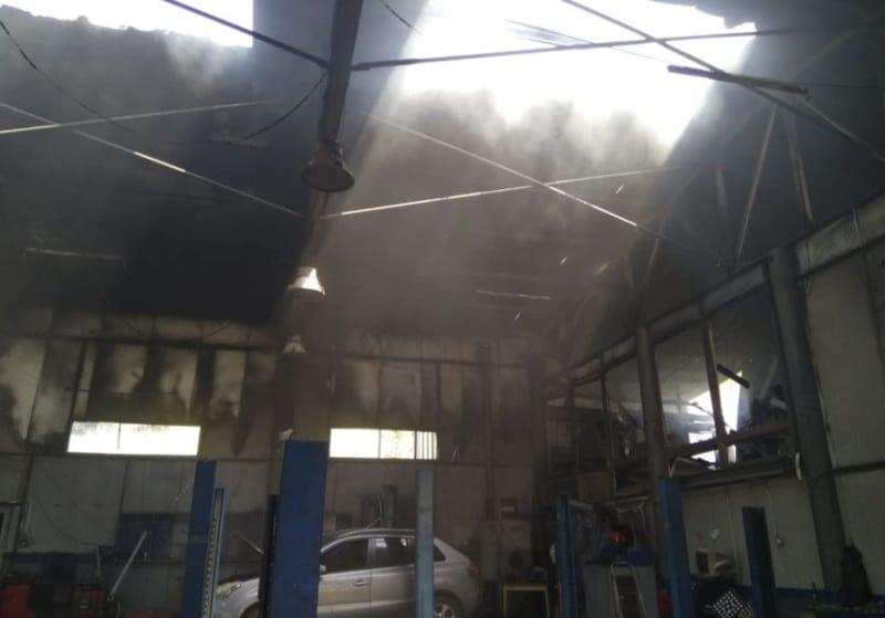 incendiu service petrosani