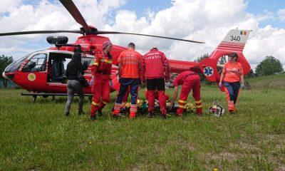 smurd interventie salvamont elicopter