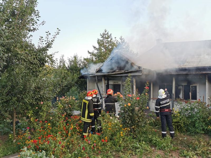 incendiu manastirea agafton