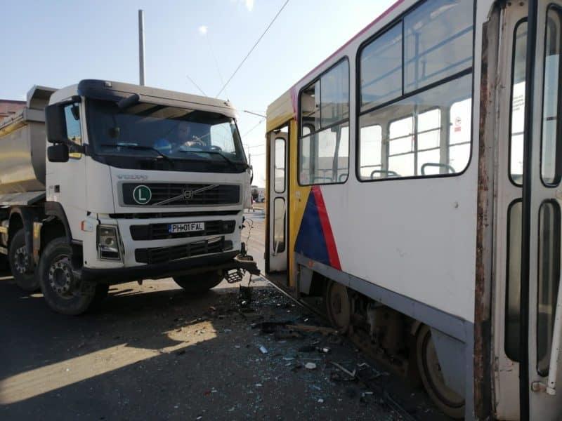 accident tramvai