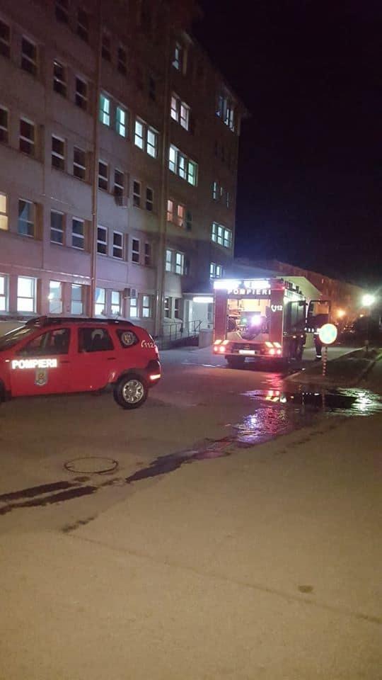 incendiu spital carei