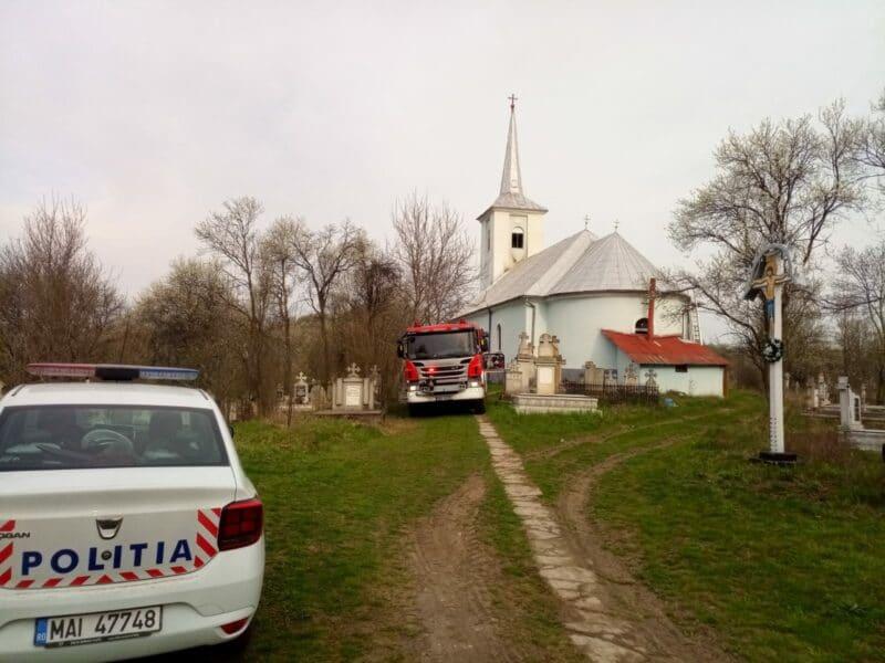 incendiu biserica cluj