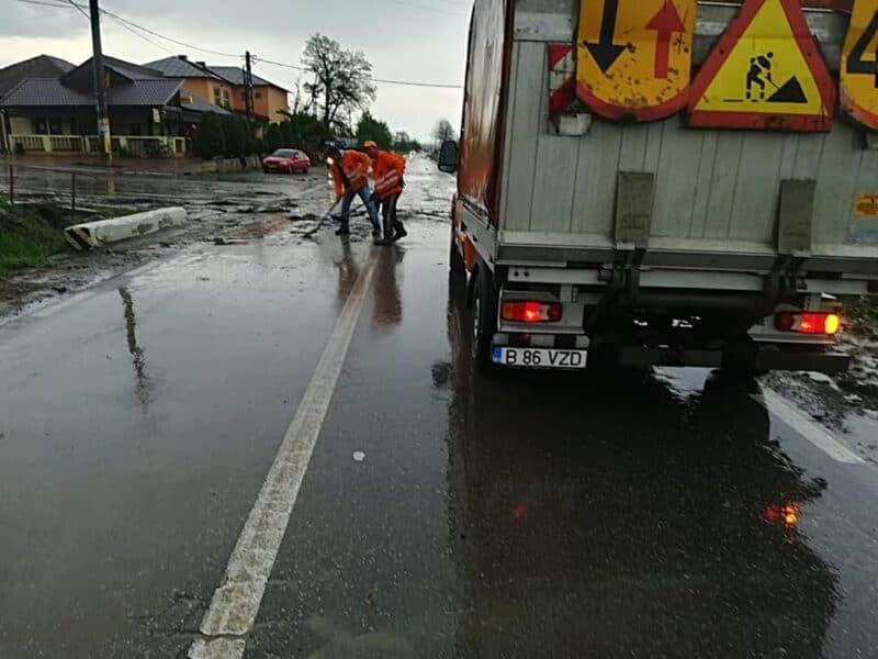 inundatie drum iasi