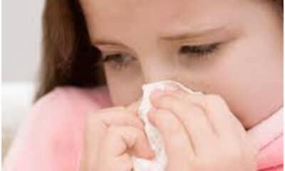 copil racit alergie