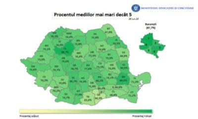 harta medii evaluare nationala