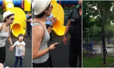 incident in parc cristina balan