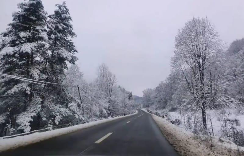zapada ninsoare drum sursa DRDP